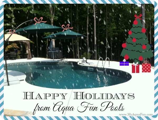 Aqua Fun Pools in Canton, Ga. wishes you a Merry Christmas