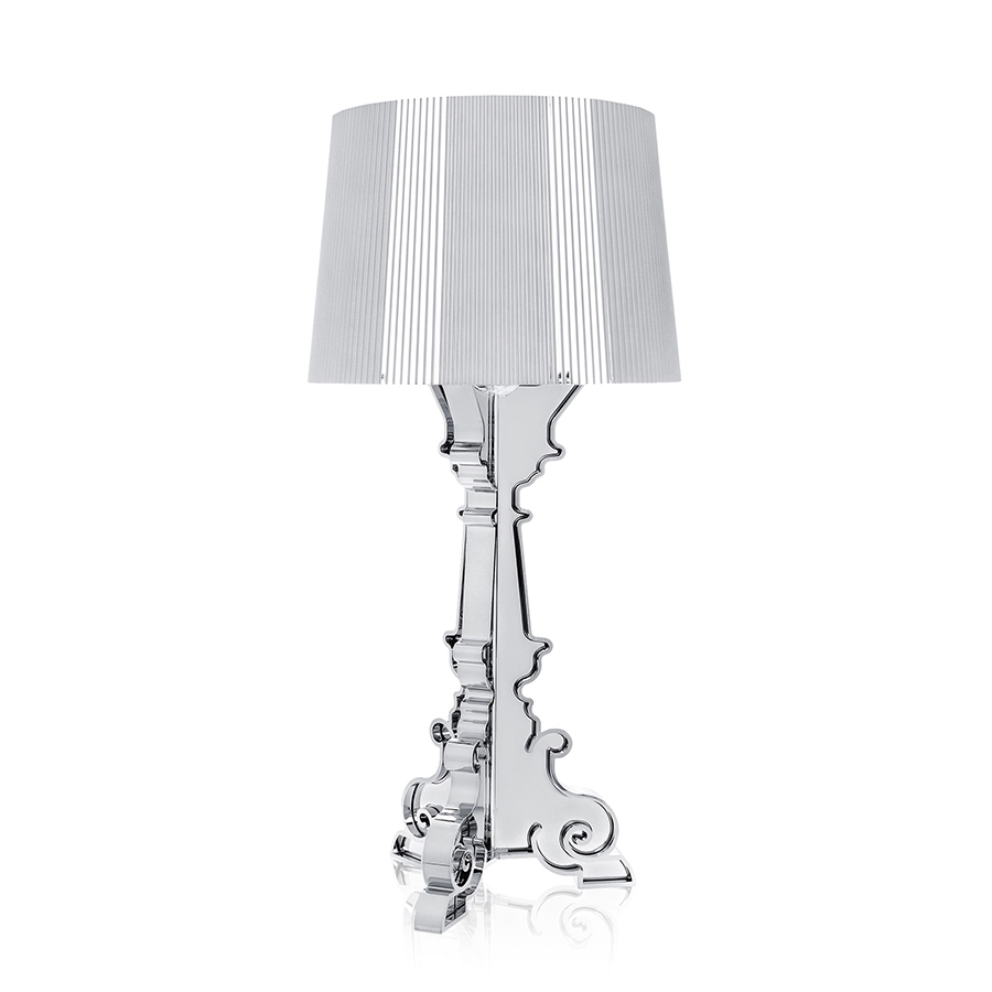 Bourgie Lampe Kartell Table Lamp Bourgie Silver Abs Metallic Myareadesign