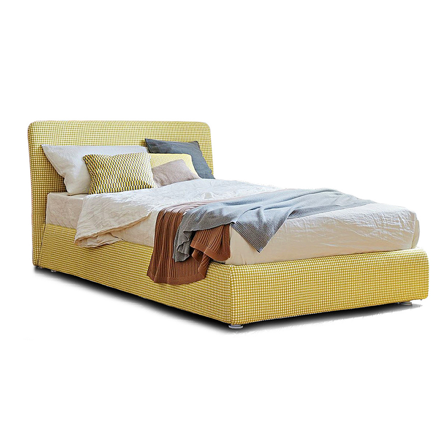 120x200 Bed Bonaldo Single Bed Tonight For Bed Base 120x200 Cm Cat Class