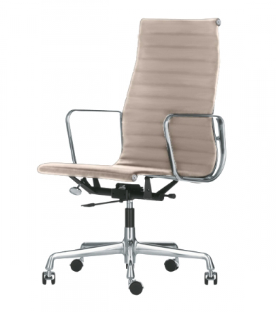 Vitra Office Chair With High Backrests Aluminium Chair Ea - Vitra Sessel Alu Chair