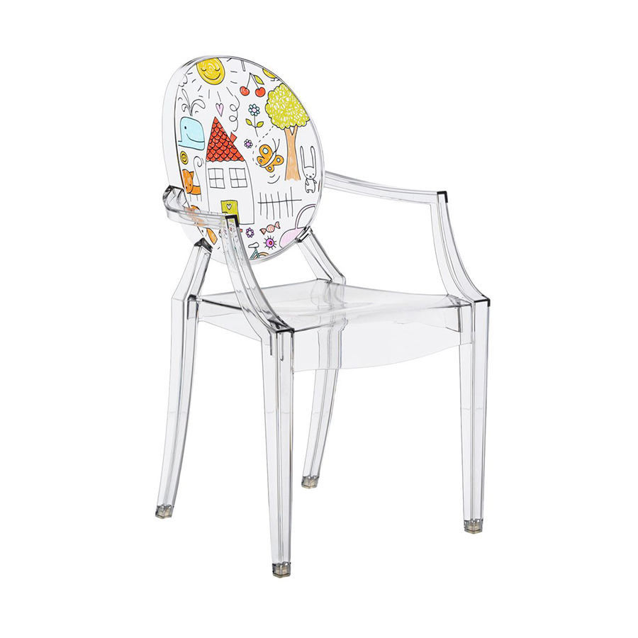 Chaises Louis Ghost Philippe Starck