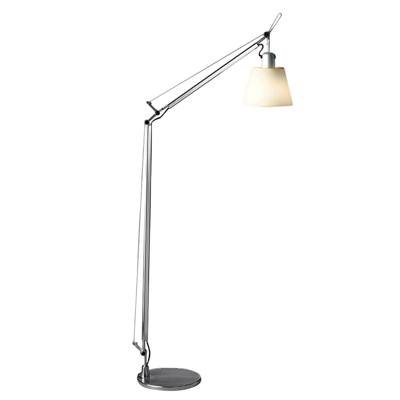 Tolomeo Reading Floor Artemide Lamp Tolomeo Basculante Reading Floor (parchment