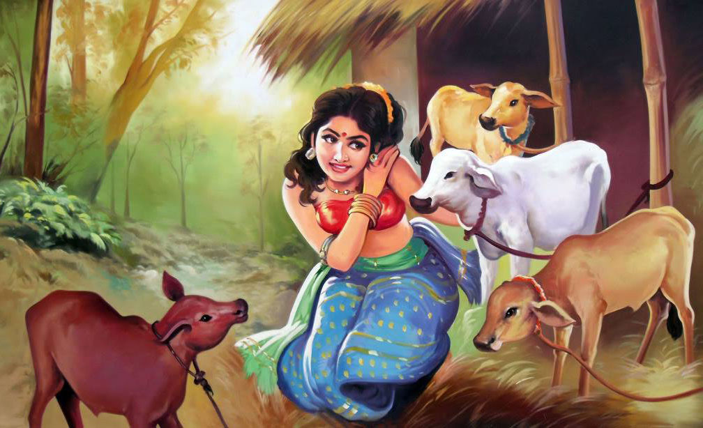 Bangle Girl Wallpaper 25 Beautiful Indian Paintings And Indian Artworks For Your