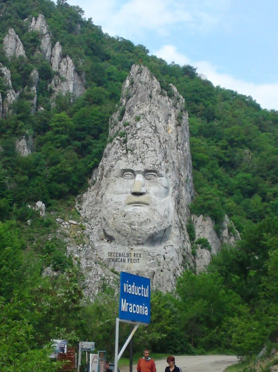 21. King Decebalus, Romania (The highest stone sculpture in Europe)