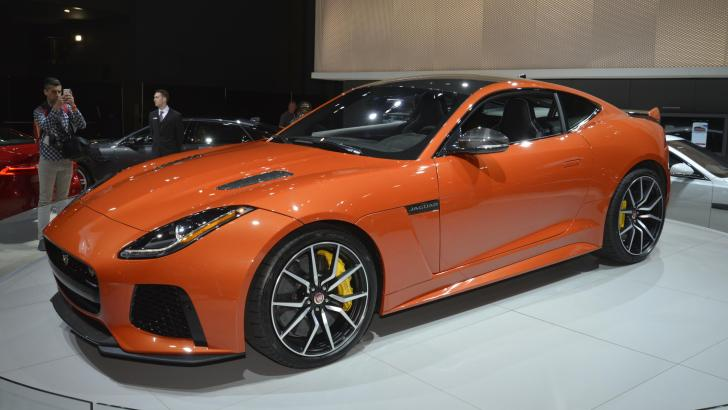 THE NEW JAGUAR F-TYPE SVR