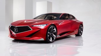 ACURA PRECISION CONCEPT AT PEBBLE BEACH