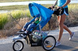 Small Of Instep Jogging Stroller
