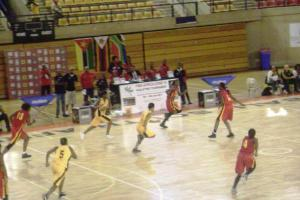 Leai Dongue leads Mozambique in blowout of South Africa