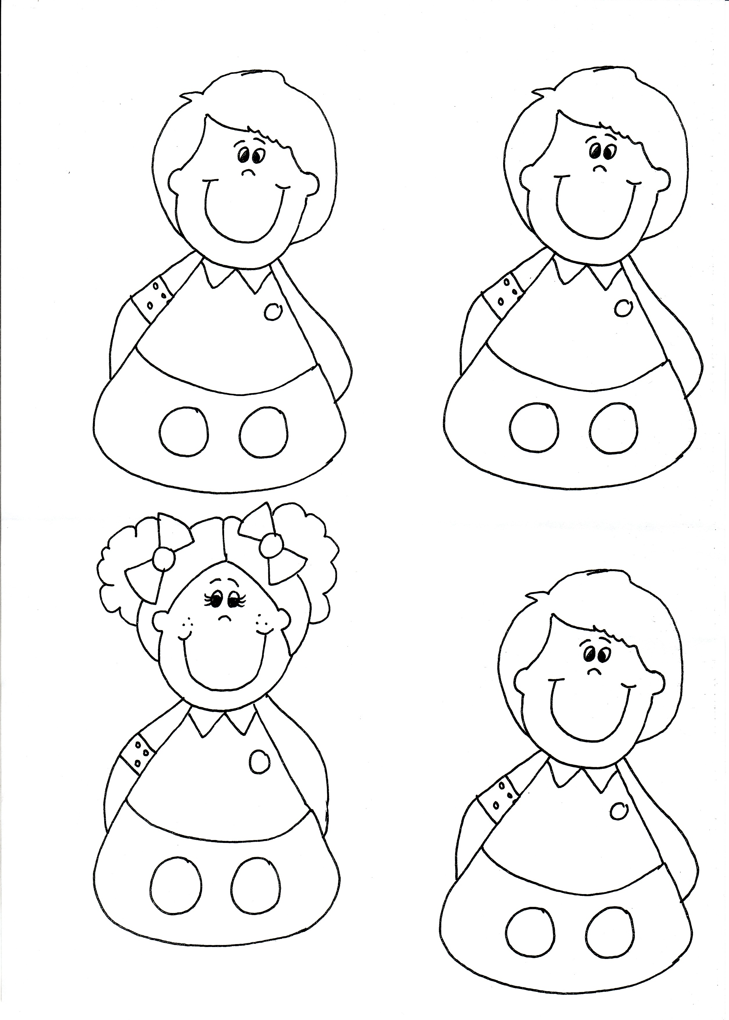 printable finger puppet templates
