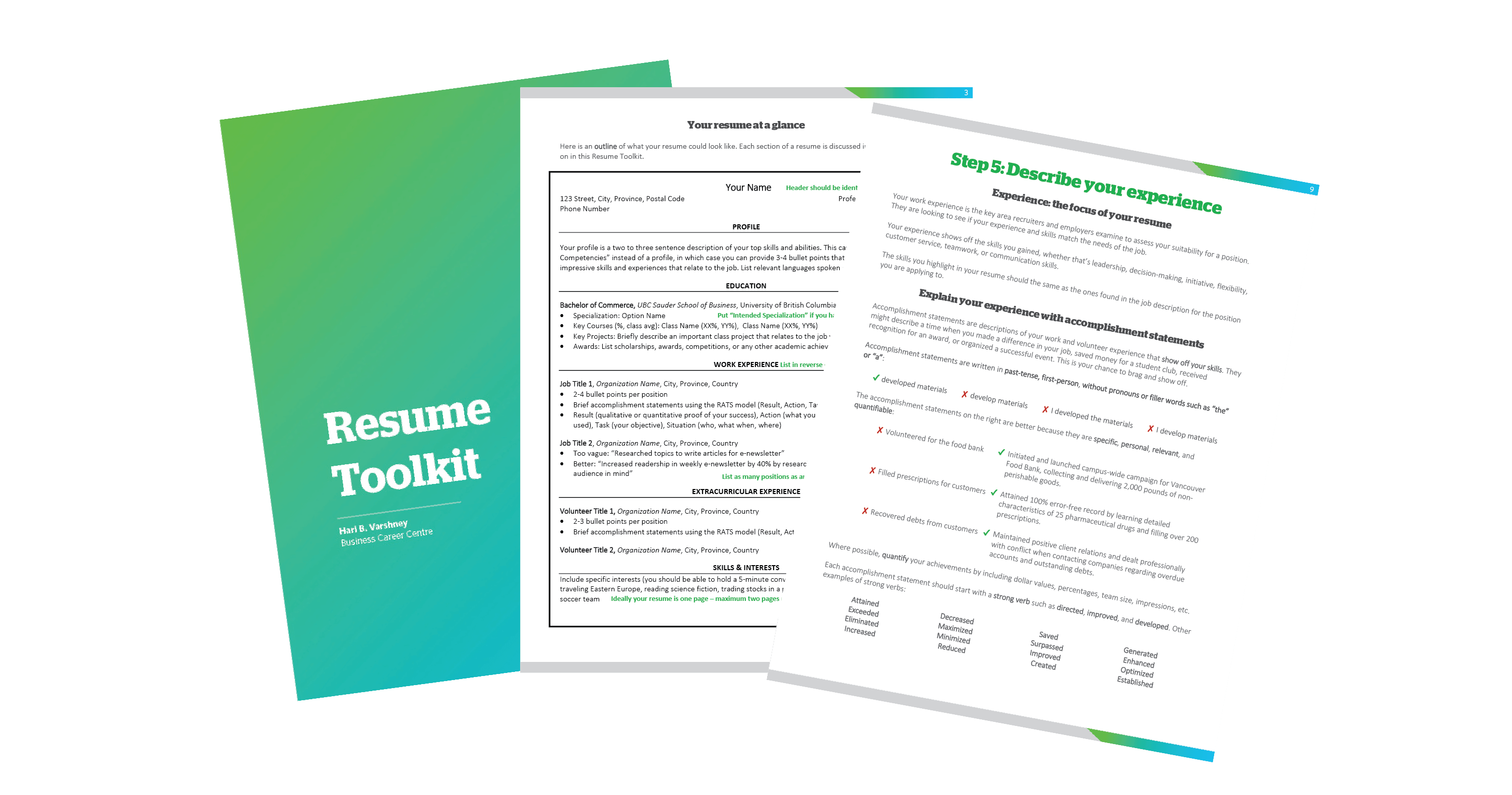 resume toolkit