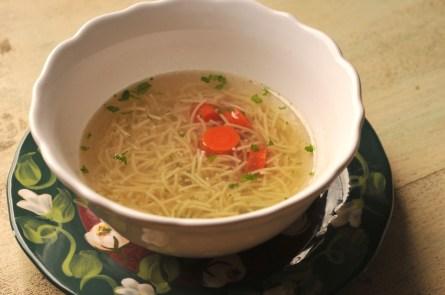 german chicken soup