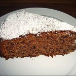 German Red Wine Cake