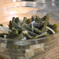 German Green Bean Potato Salad