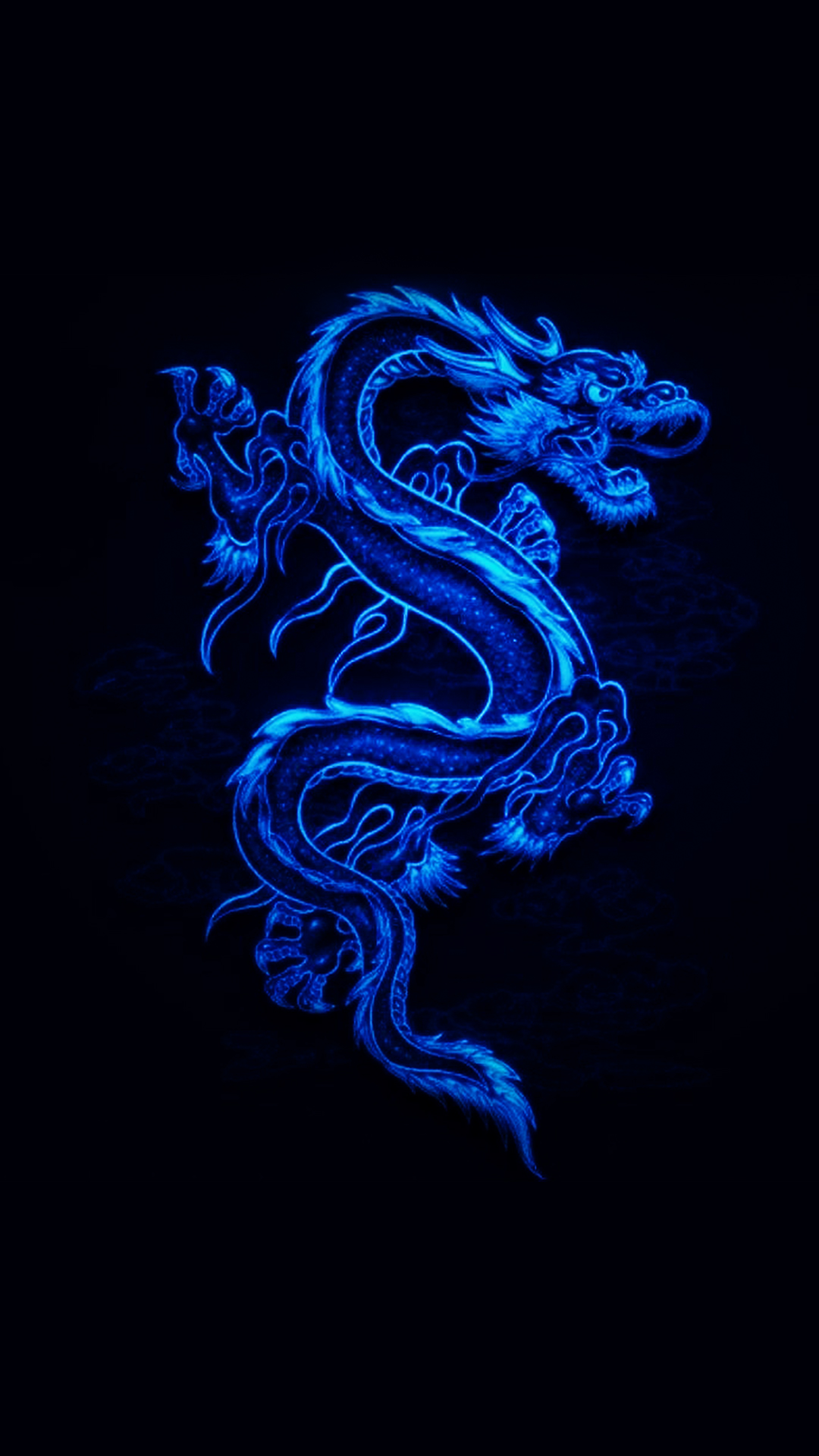 Cool Live Wallpapers For Iphone X Free Hd Blue Dragon 2 Phone Wallpaper 5547