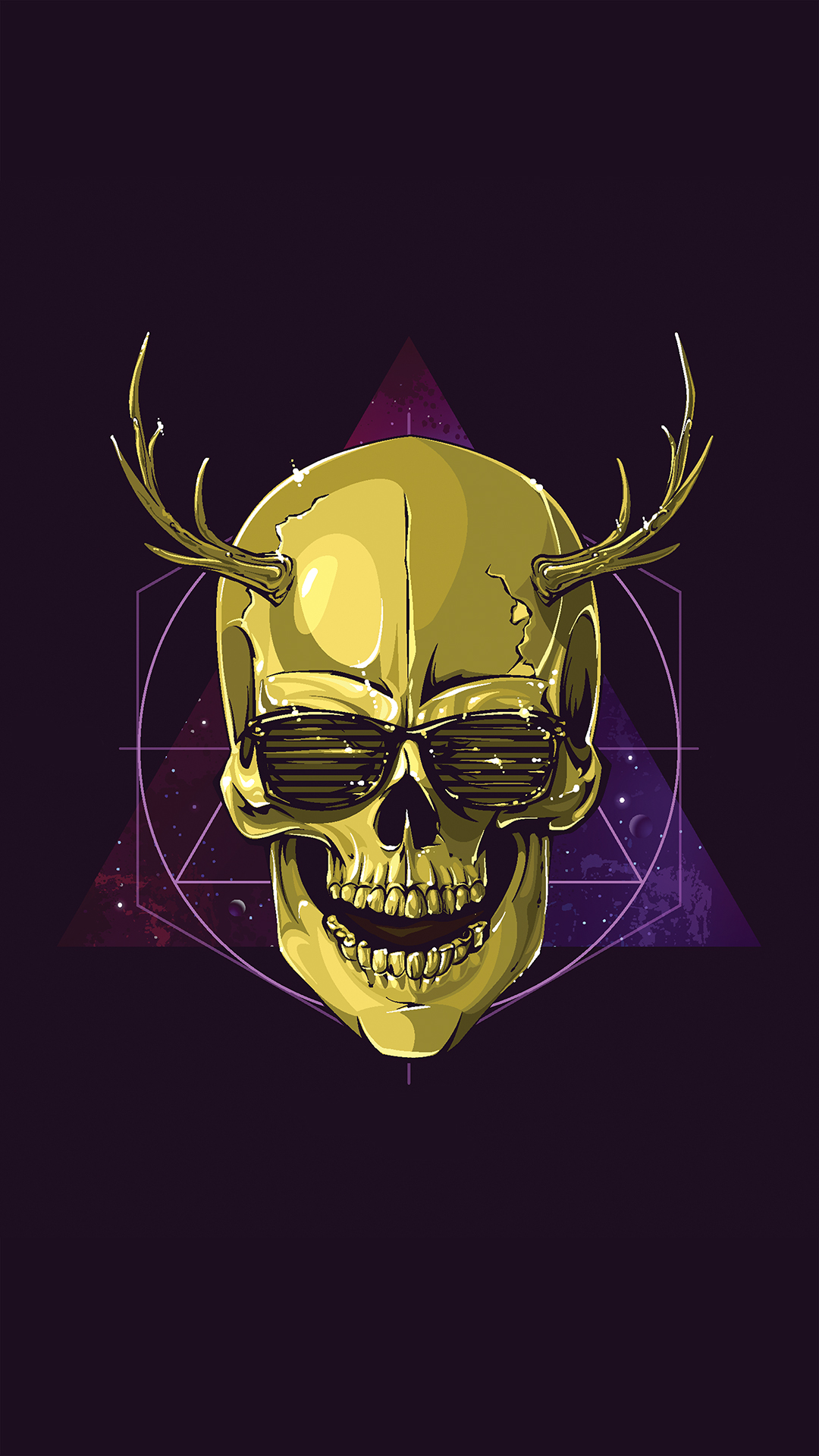 New Cute Wallpapers For Mobile Phones Free Hd Hipster Skull Phone Wallpaper 1985