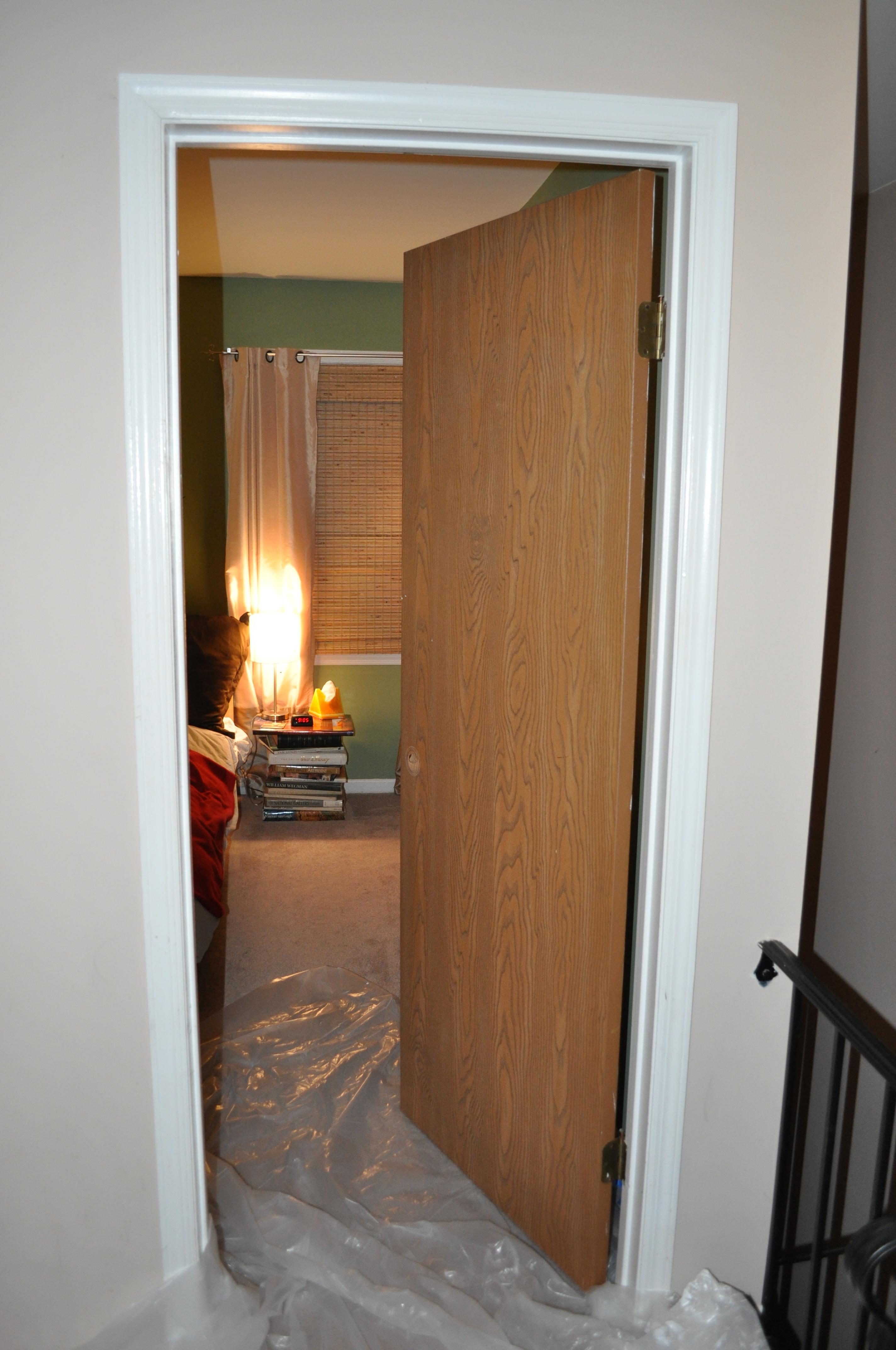 painting bedroom doors