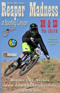 Bootleg Canyon DH Returns: Reaper Madness DH/SD Race