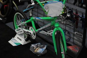 Supercross BMX Envy in dazzling green.