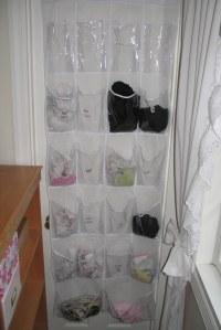 101 Uses for an Over-the-Door Shoe Holder - My Blessed Home