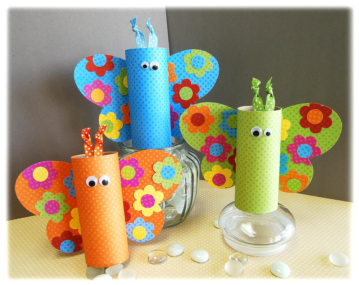 Ilet Paper Roll Crafts Spring