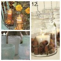 23 Mason Jar Ideas, Mason Jar Decor, Mason Jar Candles ...