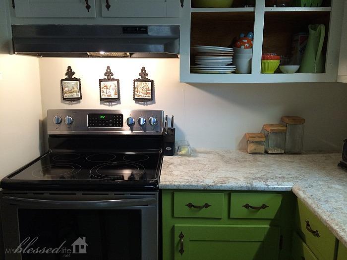 easy diy herringbone tile painted backsplash myblessedlife net kitchen tile backsplash
