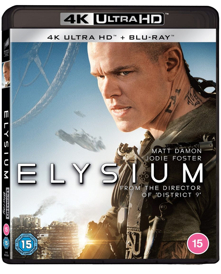 Elysium Available For The First Time On 4k Ultra Hd On February 8 2021 My Bloody Reviews