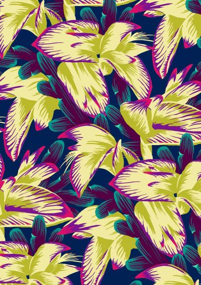 Flower patterns for Spring | my blue flamingo