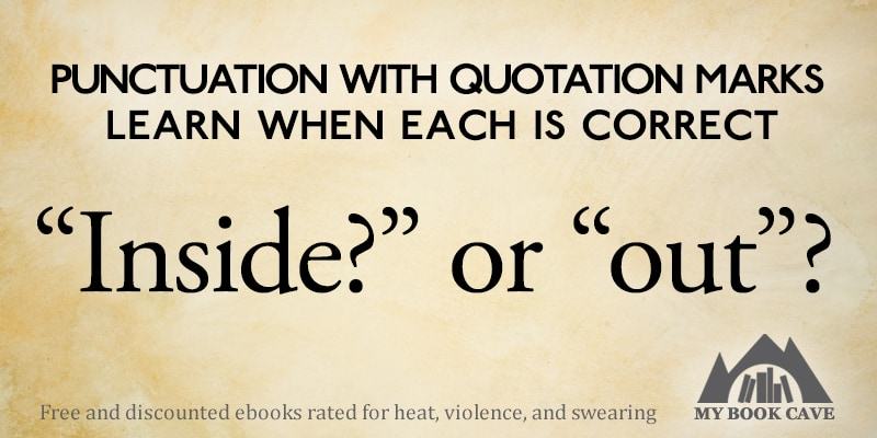 Punctuation with Quotation Marks - Book Cave