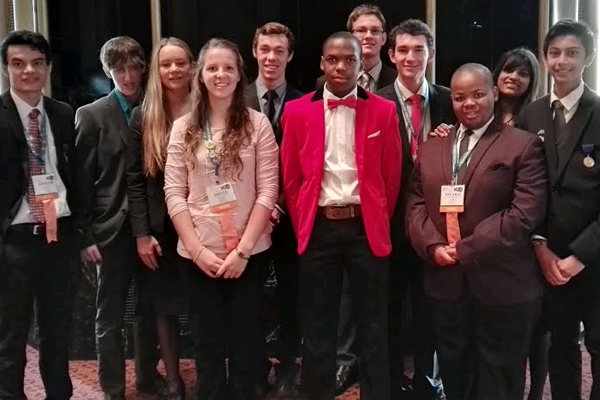 South African finalists at Intel ISEF 2015