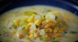Corn and Potato Chowder Recipe By Curtis Stone