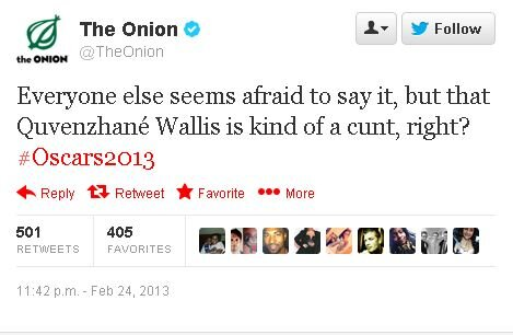 Quvenzhane Wallis The Onion C Word