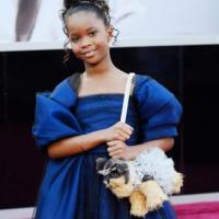 Quvenzhane Wallis at Oscars