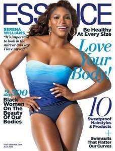 Serena Williams Essence Cover
