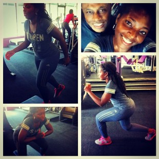 Black Woman Fitness
