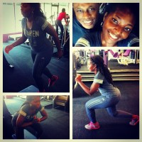 Black Woman Fitness