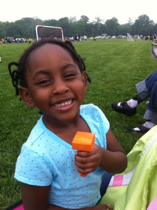 African American Toddler Girl