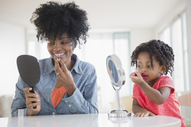 What's Wrong With Letting Little Girls Play In Makeup?—and other MyBrownBaby Fresh Links