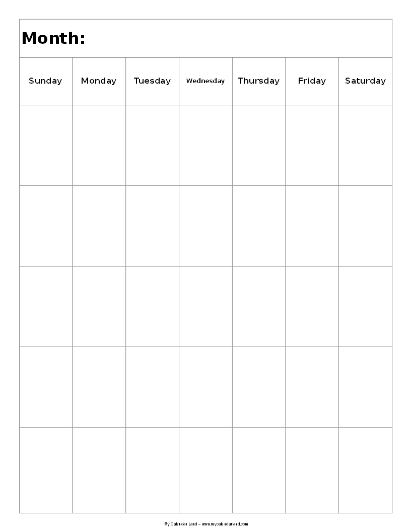 Blank Calendars With Lines Monthly Blank Calendar Free Printable Templates Next Two Pairs Offer Blank Printable Calendars In