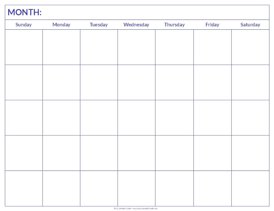 Free Calendars To Print Vertex