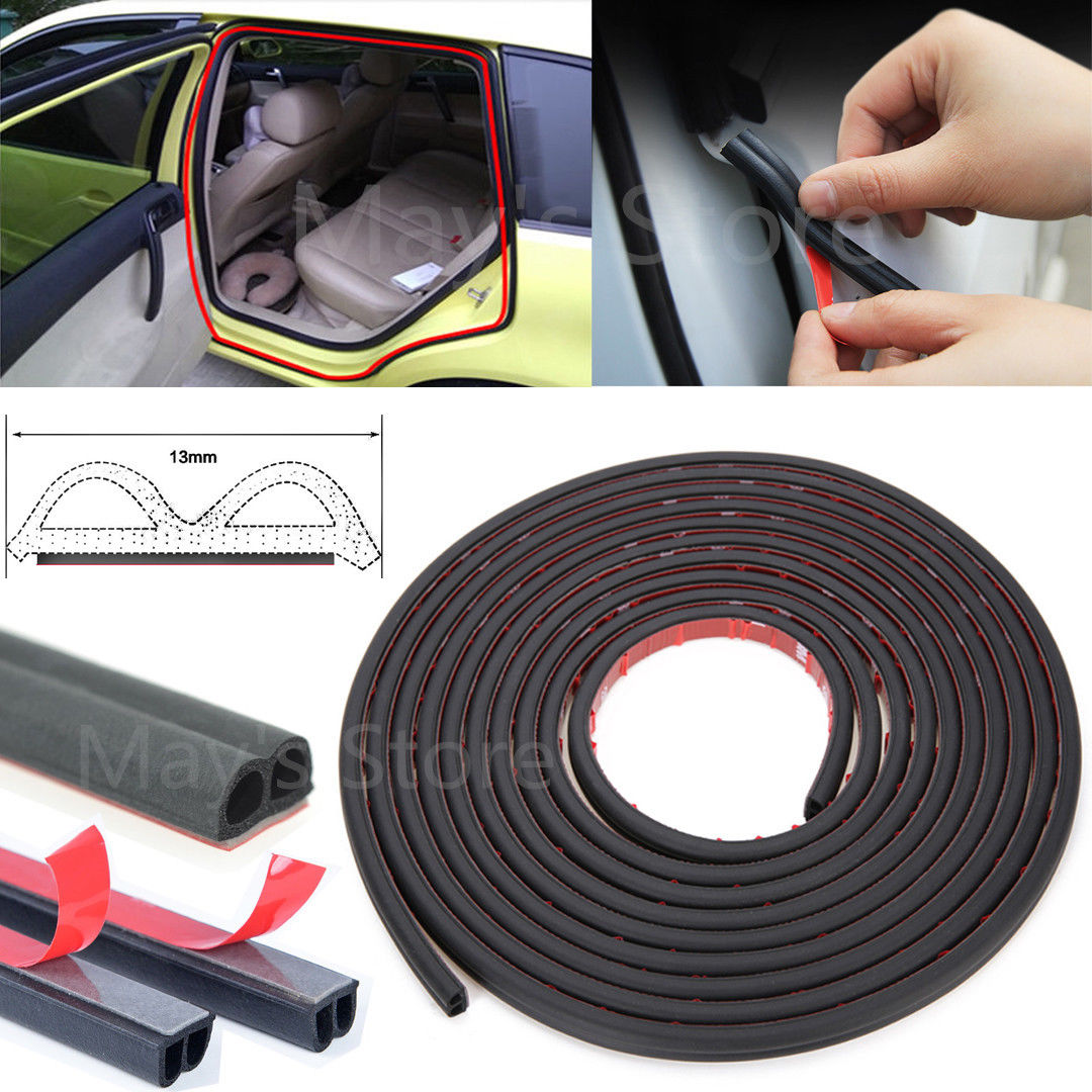 Rubber Seal Strip Amazing Weatherstrip B Type Car Door Boot Seal Strip Edge Trim 5m 16ft Rubber Seal Tape 2018 2019