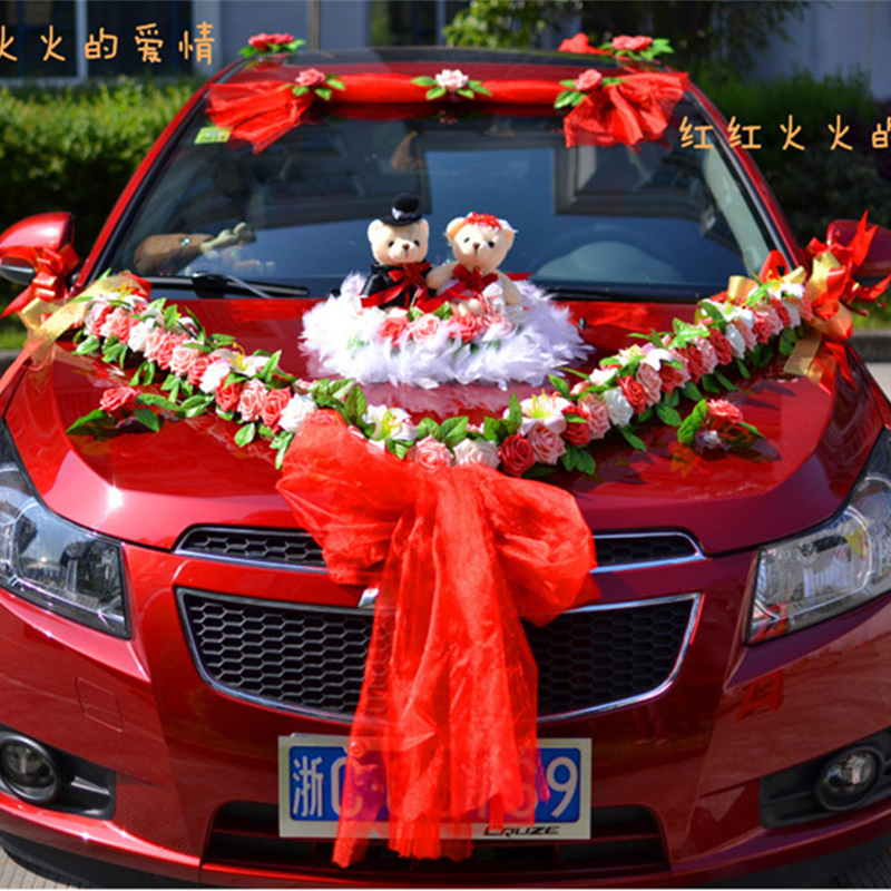 Make Wedding Car Decoration Ideas Elitflat