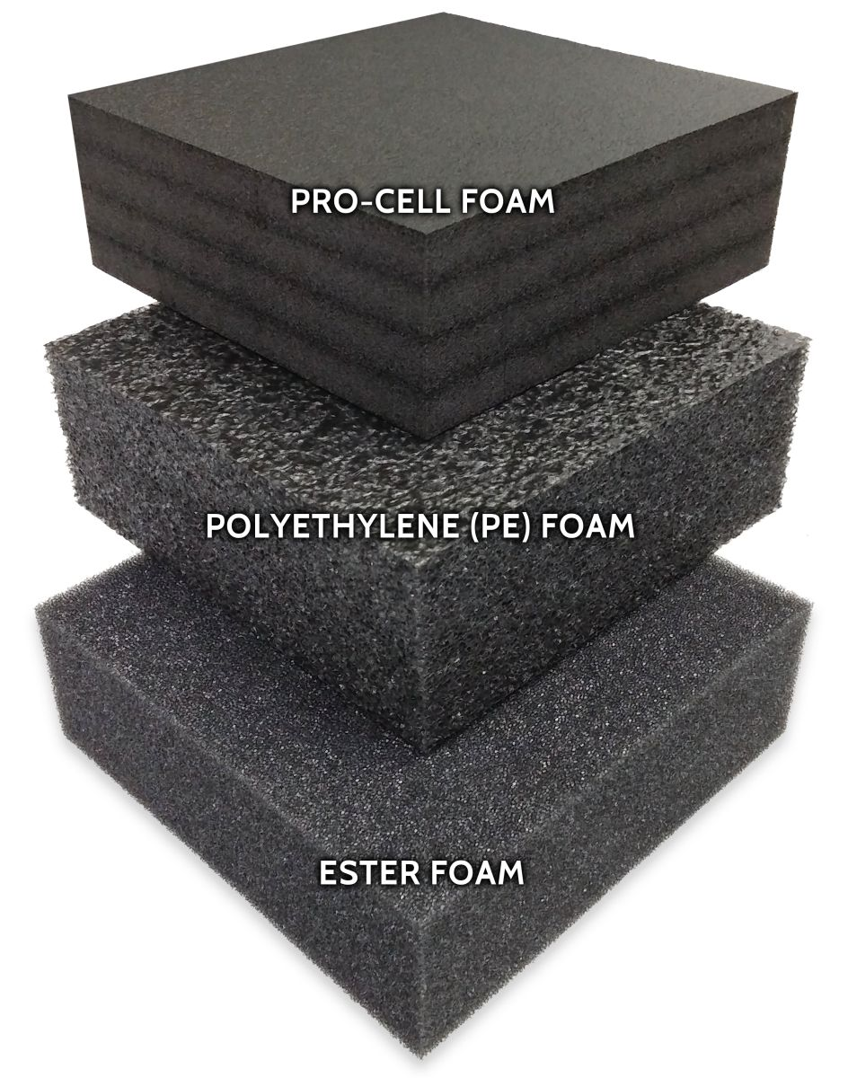 Different Types Of Foam Mycasebuilder How To Choose The Right Foam For Your Custom Case