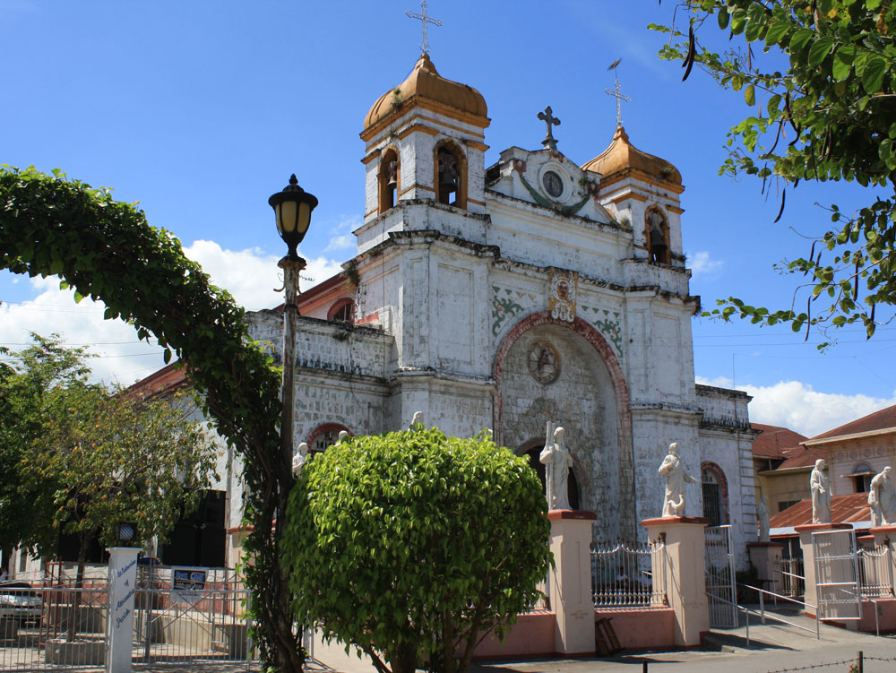 Santa Catalina de Alejandria Parish Church in Carcar. Construction of this structure started in 1860 and was finished in 1875.