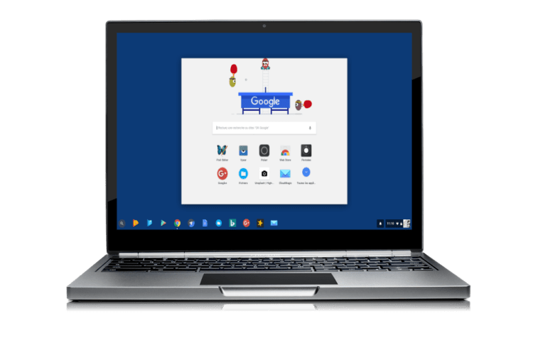 Le lanceur d'application Chrome OS évolution encore!