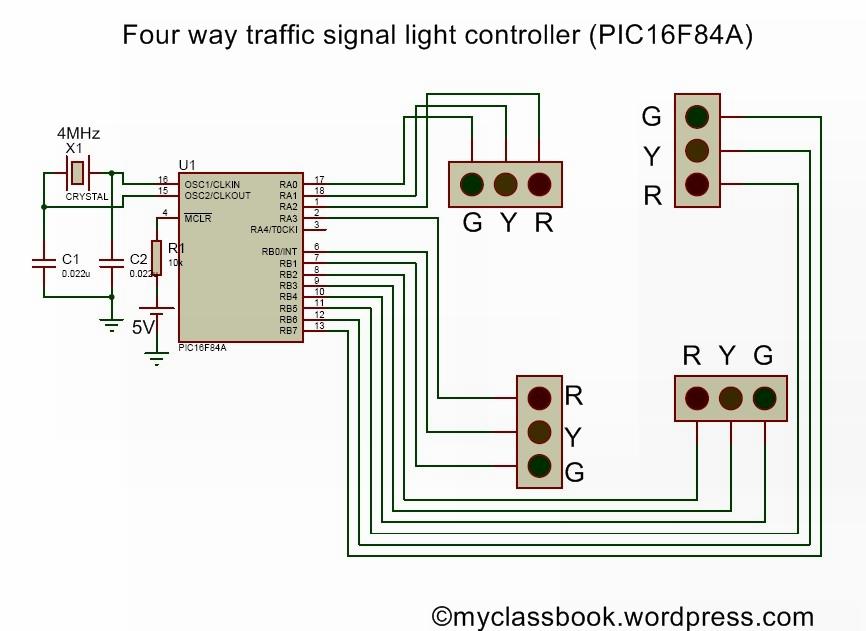 Automatic Street Light Circuit Diagram Myclassbookorg