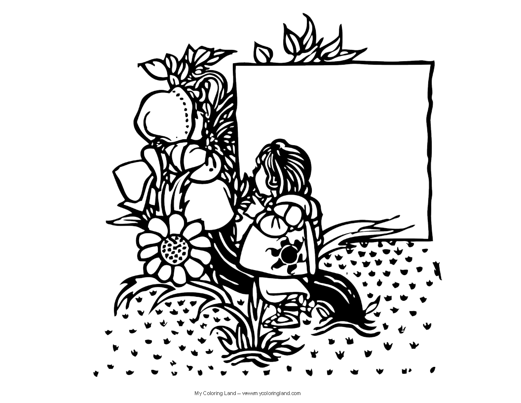 Flower Fairy Coloring Pages - Eskayalitim