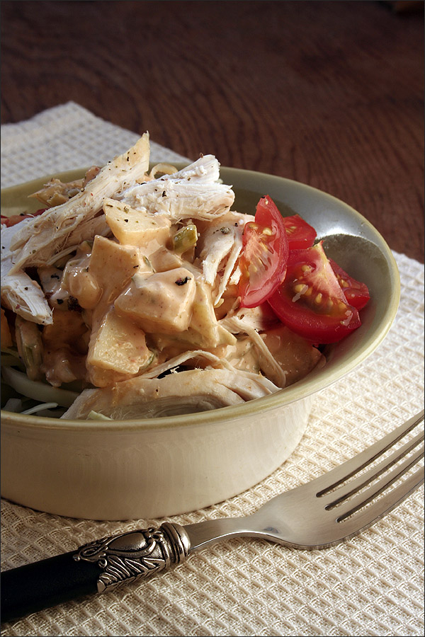 Thai-Spiced Chicken Salad