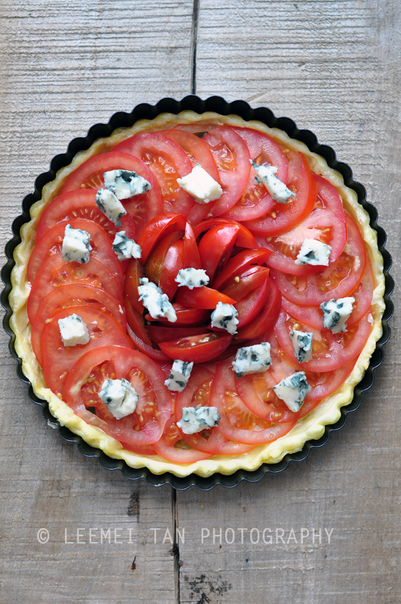 tomato-blue-cheese-tart