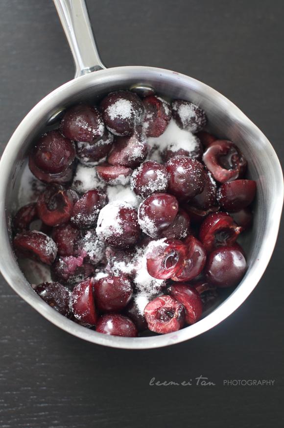 cherries-in-pan